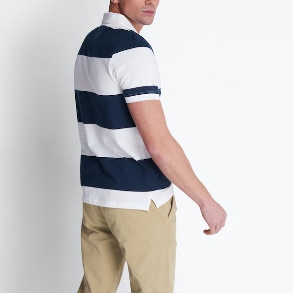 Lyle & Scott Vintage Wide Stripe Polo Shirt