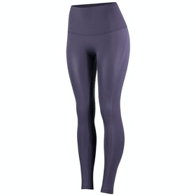 Horze Bianca Silicone Full Seat Dames Riding Tights - Nightshade