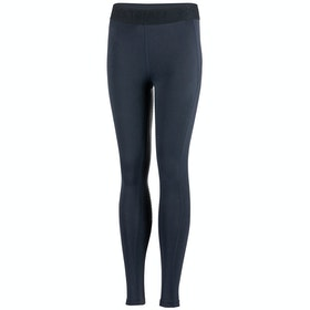 Horze Madison Silicone Full Seat Childrens Riding Tights - Dark Blue