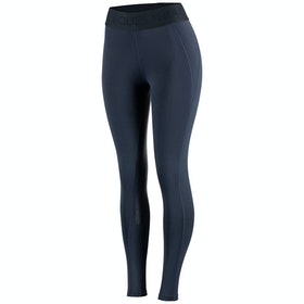 Horze Madison Silicone Full Seat Ladies Riding Tights - Dark Blue