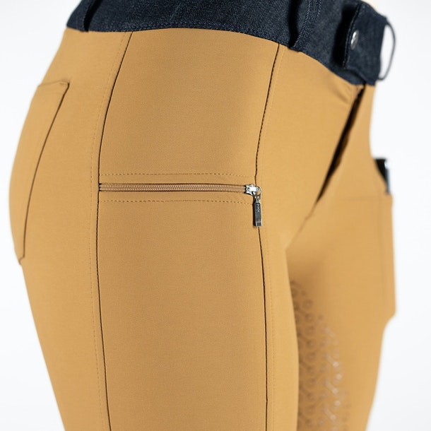Horze Abrielle Silicone Full Seat Ladies Riding Breeches