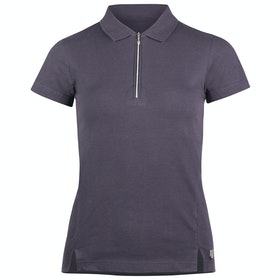 Horze Jasmine Short Sleeve Training Dames Top - Nightshade