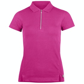 Horze Jasmine Short Sleeve Training Dames Top - Shocking Pink