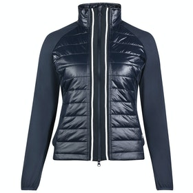 Horze Robyn Combo Dames Riding Jacket - Dark Blue