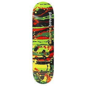 Enjoi Samarria Splatter Panda R7 Skateboard Deck - Samarria Brevard