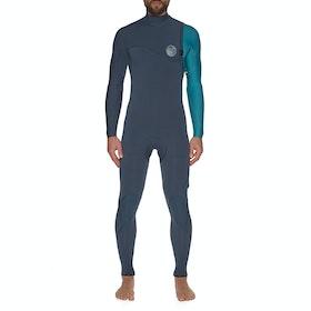 Combinaison de Surf Rip Curl E Bomb 4/3mm Zipperless - Blue
