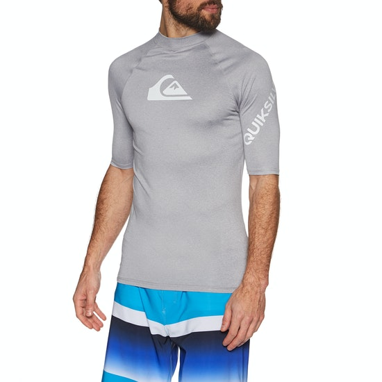 Quiksilver All Time Short Sleeve Rash Vest