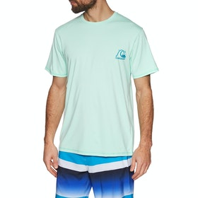 Quiksilver Heritage Short Sleeve Surf T-Shirt - Beach Glass