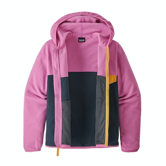 Plumón Girls Patagonia Micro D Snap-t
