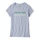 Camiseta de manga corta Girls Patagonia Pastel P-6 Logo Organic