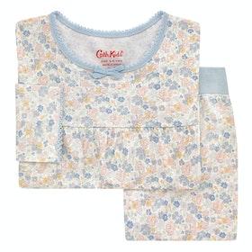 Cath Kidston Long Sleeve Jersey Kid's Pyjamas - Ivory
