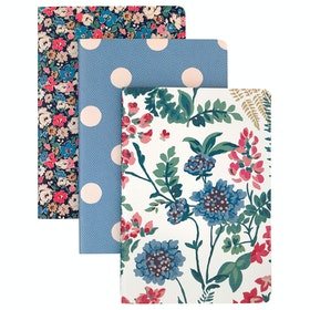 Cath Kidston Set Of Three Notebooks Women's Book - Warm Cream