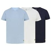 Lyle & Scott 3 Pack Maxwell Loungewear Tops