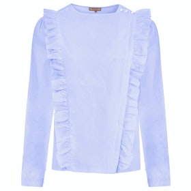 Troy London The Pinafore Women's Shirt - Blue