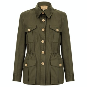 Troy London Tracker Womens Bunda - Olive