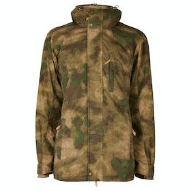Troy London Parka Men's Wax Jacket - Special Ed Camo