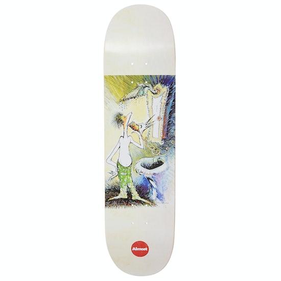 Almost Dr. Seuss Art Series R7 Pro Board Skateboard Deck
