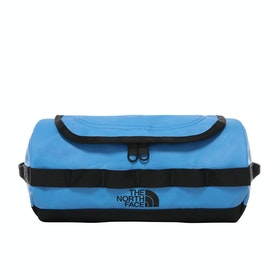 North Face Base Camp Travel Canister Wash Bag - Clear Lake Blue TNF Black