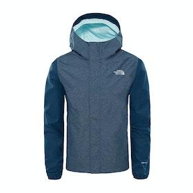 North Face Resolve Waterproof Jacket - Blue Wing Teal