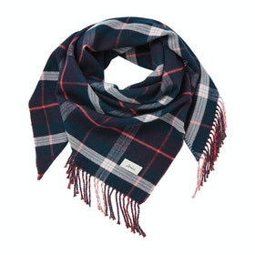 Sciarpa Donna Joules Wilstow - Navy Teal Check