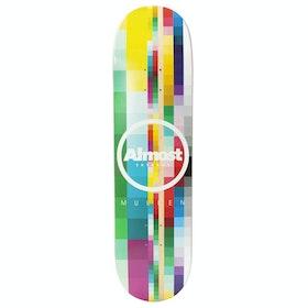 Almost Mullen Rasterised Impact Light 8.25 inch Skateboard Deck - Max Geronzi