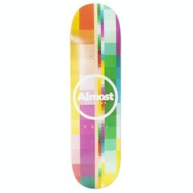 Almost Yuri Rasterised Impact Light 8.375 inch Skateboard Deck - Max Geronzi