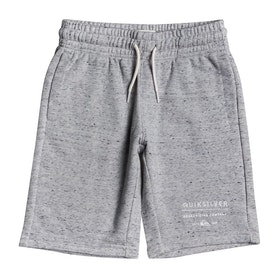 Quiksilver Easy Day Track Boys Shorts - Light Grey Heather