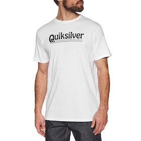Quiksilver New Slang Short Sleeve T-Shirt - White