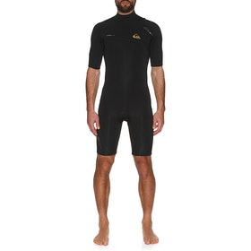 Quiksilver 2mm Highline Zipperless Shorty Wetsuit - Black