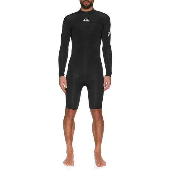 Quiksilver 2mm Syncro Back Zip Long Sleeve Shorty Wetsuit