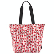 Lulu Guinness Lips And Heart Stripe Bea Damen Einkaufstasche