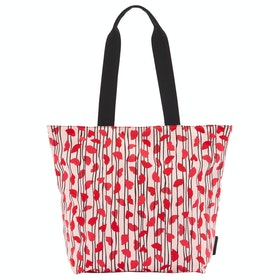 Lulu Guinness Lips And Heart Stripe Bea Women's Shopper Bag - Blossom Multi