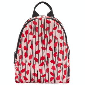 Lulu Guinness Lips And Heart Stripe Sadie Women's Backpack - Blossom Multi