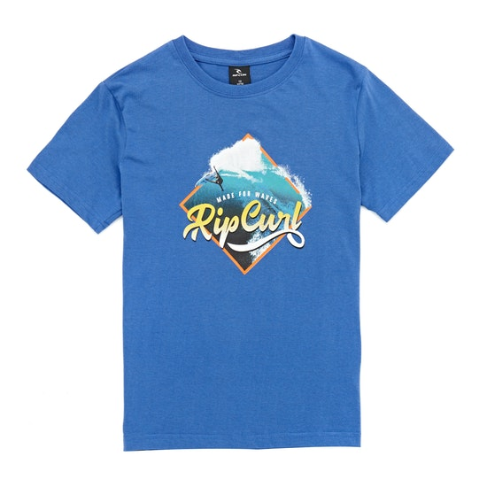 Rip Curl Action Photo T-Shirt Korte Mouwen