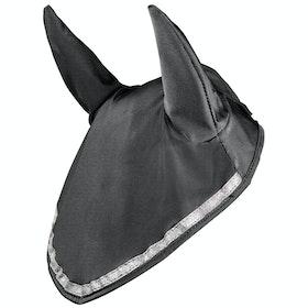 Horze Finley Ear Net Fly Veil - Black