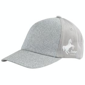 Horze Glitter Childrens Cap - Silver