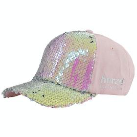 Horze Sequin Childrens Cap - Pink