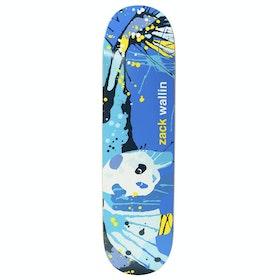 Enjoi Wallin Splatter Panda R7 Skateboard Deck - Zack Wallin