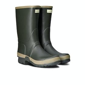 Hunter Gardener Wellington Boots - Dark Olive Clay