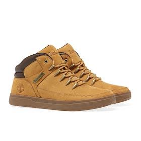 Stivali Uomo Timberland Davis Square Sneaker - Wheat Nubuck