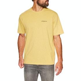 T-Shirt à Manche Courte Patagonia Fitz Roy Horizons Responsibili Tee - Surfboard Yellow
