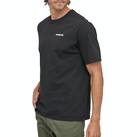 T-Shirt à Manche Courte Patagonia P-6 Logo Responsibili Tee - Black