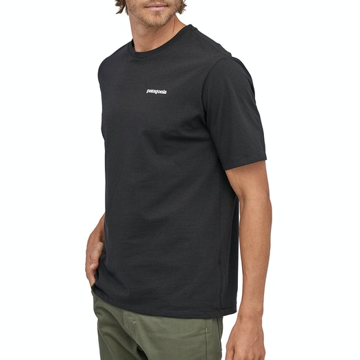 T-Shirt de Manga Curta Patagonia P6 Logo Responsibilitee