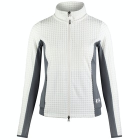 B Vertigo Darcey Technical Ladies Fleece - White Grey
