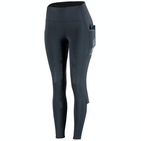 B Vertigo Estelle Silicone Full Seat Ladies Riding Tights - Dark Blue