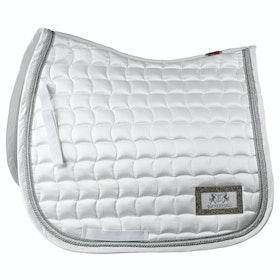 B Vertigo Vermont Dressage Saddlepads - White