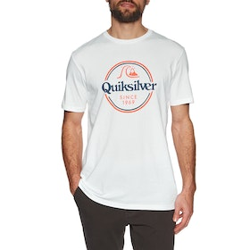 Quiksilver Words Remain Short Sleeve T-Shirt - White