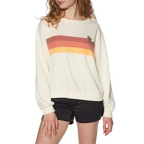 Rip Curl Revival Crew Womens Sweater - Bone
