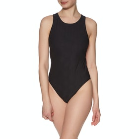 Seafolly Caprisea High Neck Maillot Swimsuit - Black
