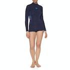 Roxy 2/2mm Syncro Series Long-Sleeve Back-Zip Shorty Ladies Wetsuit